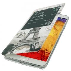 Чехол Flip Case для Galaxy Note 3 Париж