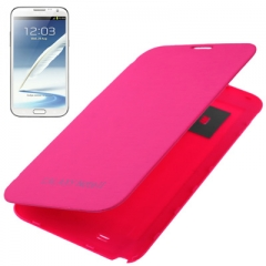 Чехол Flip Case для Samsung Galaxy Note 2 малиновый