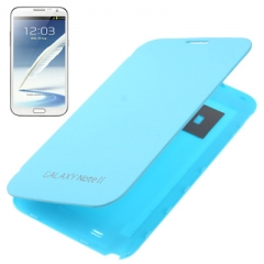 Чехол Flip Case для Samsung Galaxy Note 2 голубой