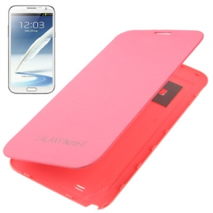 Чехол Flip Case для Samsung Galaxy Note 2 розовый