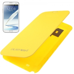 Чехол Flip Case для Samsung Galaxy Note 2 желтый