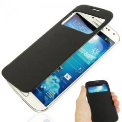 Flip Case с окошком для Samsung Galaxy S4 синий