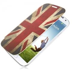 Чехол Flip Case для Samsung Galaxy S4 Британский флаг