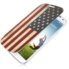 Flip Case для Samsung Galaxy S4 Американский флаг