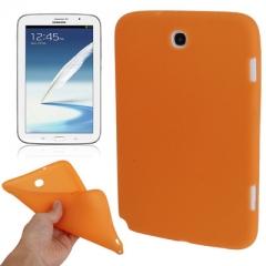 Чехол силиконовый для Samsung Galaxy Note 8 оранжевый