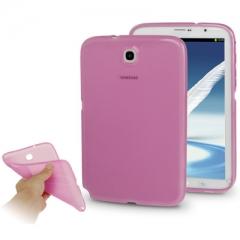 Чехол силиконовый для Samsung Galaxy Note 8 розовый