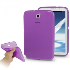 Чехол силиконовый для Samsung Galaxy Note 8 фиолетовый