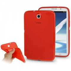 Чехол силиконовый для Samsung Galaxy Note 8 красный