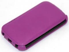Чехол книжка для Nokia Lumia 520 фиолетовый