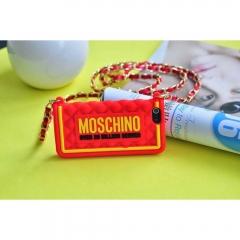 Чехол сумочка Moschino McDonald's для iPhone 5S