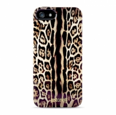 Чехол силиконовый Just Cavalli для iPhone 5S Леопард