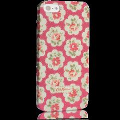 Чехол Cath Kidston для iPhone 5S с цветочками красный