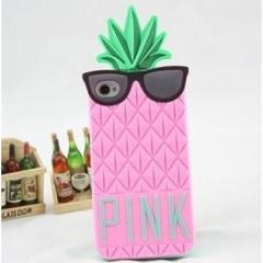 Чехол Ананас для iPhone 5S Victoria's Secret розовый