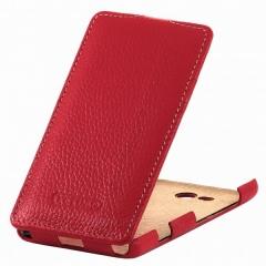 Чехол книжка для Sony Xperia Z1 красный