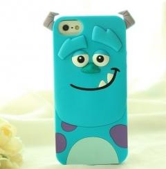 Чехол силиконовый Корпорация монстров для iPhone 5S