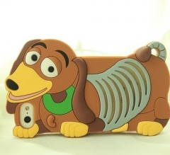 Чехол силиконовый Собачка для iPhone 5S