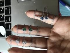 Кольцо на две фаланги Messika