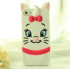 Чехол силиконовый Котенок для iPhone 5s