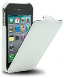 Чехол-книжка Melkco для iPhone 4 белый