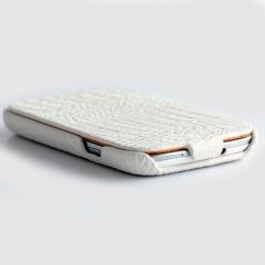 Чехол - книжка Borofone для Samsung Galaxy S4 белый