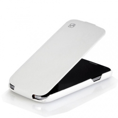 Чехол - книжка HOCO для Samsung Galaxy S4 белый