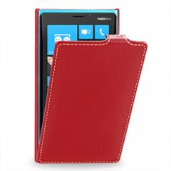 Чехол книжка для Nokia Lumia 920 красный