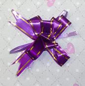 Бантик фиолетовый