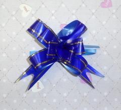 Бантик синий