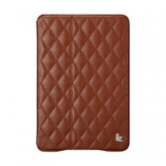 Чехол JisonCase Quilted для iPad Mini коричневый