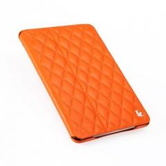 Чехол JisonCase Quilted для iPad Mini оранжевый