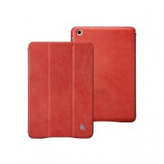 Чехол JisonCase для iPad Mini винтаж красный