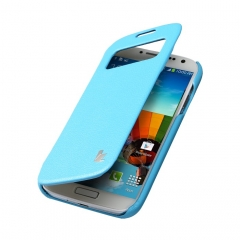 Чехол JisonCase для Samsung Galaxy S4 голубой