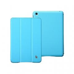 Чехол JisonCase для iPad Mini голубой
