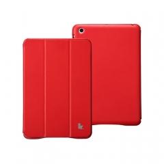 Чехол JisonCase для iPad Mini красный