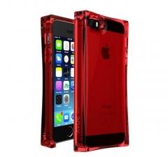Чехол Льдинка для iPhone 5S красный
