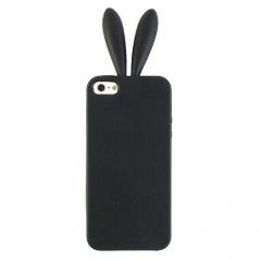 Чехол с ушами для iPhone 5 черный