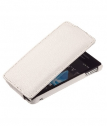 Чехол книжка для HTC One белый