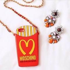 Чехол Moschino Макдоналдс для iPhone 5